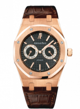 Royal Oak 262330 Day & Date Pink Gold / Strap