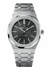 Royal Oak 15400 Stainless Steel / Black