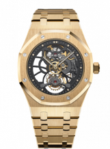 Royal Oak Ultra Thin Tourbillon Openworked Yellow Gold / Boutique Edition