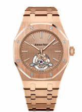 Royal Oak Ultra Thin Tourbillon Pink Gold / Westime
