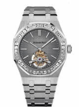 Royal Oak Ultra Thin Tourbillon Platinum / Diamond