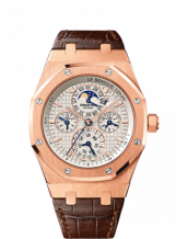 Royal Oak 26603 Equation of Time  Pink Gold / Silver