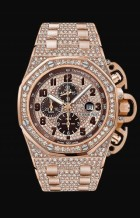Royal Oak OffShore 26215 T3 Pink Gold / Diamond / Bracelet