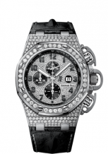 Royal Oak OffShore 26215 T3 White Gold / Diamond