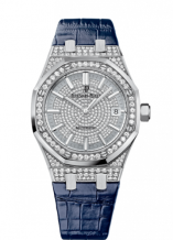 Royal Oak 15452 Selfwinding White Gold / Diamond / Diamond / Strap