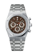 Royal Oak 26300 Chronograph Stainless Steel / Brown