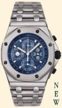 Royal Oak OffShore 25854 Perpetual Calendar White Gold / Blue
