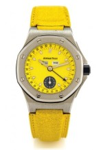 Royal Oak OffShore 25808 Full Calendar Yellow