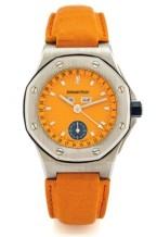 Royal Oak OffShore 25808 Full Calendar Orange