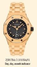 Royal Oak OffShore 25807 Full Calendar Yellow Gold / Blue / Bracelet