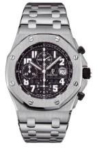 Royal Oak OffShore 25721 Chronograph Stainless Steel / Black