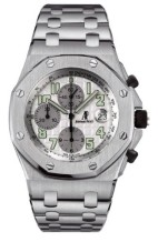 Royal Oak OffShore 25721 Chronograph Stainless Steel / Silver