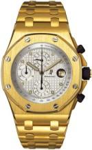Royal Oak OffShore 25721 Chronograph Yellow Gold / Silver