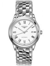 Gents Longines Flagship White Dial Bracelet Watch