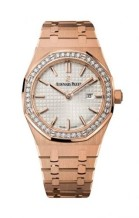Royal Oak 67651 Quartz Pink Gold / Silver