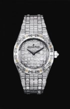 Royal Oak Lady White Gold / Baguette / Baguette
