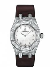 Royal Oak 67605 White Gold / Diamond / MOP