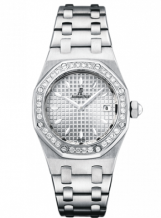 Royal Oak 67601 Stainless Steel / Diamond / Silver / Bracelet