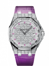 Royal Oak OffShore 67543 Lady Quartz Sapphire Hour