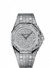 Royal Oak OffShore 67543 Lady Quartz Full Baguette