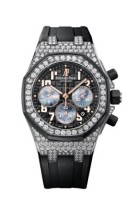 Royal Oak OffShore Lady 26212 LadyCat White Gold