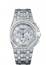 Royal Oak OffShore 26114 Chronograph White Gold / Baguette / MOP