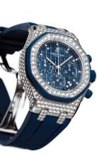 Royal Oak Offshore 26092 Lady Chronograph White Gold / Blue