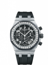 Royal Oak OffShore 26048 Lady Chronograph Stainless Steel / Black