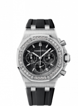 Royal Oak OffShore 26231 Lady Chronograph Stainless Steel / Black