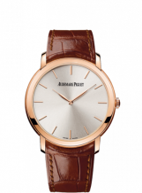 Jules Audemars 15180 Extra-Thin Pink Gold / Silver