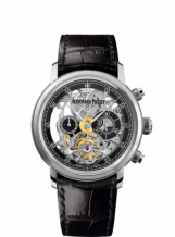 Jules Audemars 26346 Tourbillon Chronograph Openworked White Gold Boutique