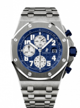Royal Oak Offshore 26170 Chronograph Titanium / Blue