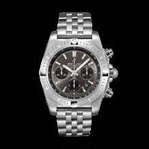 Chronomat B01 Chronograph 44 Stainless Steel / Blackeye Grey / Bracelet
