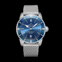 Superocean Heritage II 46 Stainless Steel / Blue / Blue / Bracelet