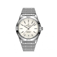 Chronomat Automatic 36 Stainless Steel / White / Rouleaux