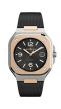 BR 05 Stainless Steel / Rose Gold / Black / Rubber