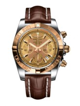 Chronomat 44 Stainless Steel / Rose Gold / Golden Sun / Croco / Pin