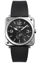 Gents Bell & Ross Rubber Strap Watch
