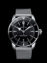 Superocean Heritage II B20 Automatic 44 Stainless Steel / Black / Bracelet