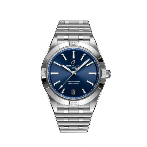Chronomat Automatic 36 Stainless Steel / Blue / Rouleaux
