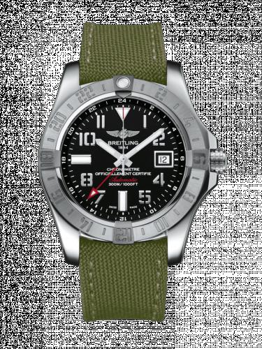 Avenger II GMT Stainless Steel / Volcano Black / Military / Pin